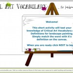 Art Vocabulary - Landscape Painting