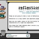 Reflection - Light Box Experiment