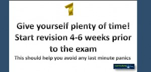 12 Revision Tips